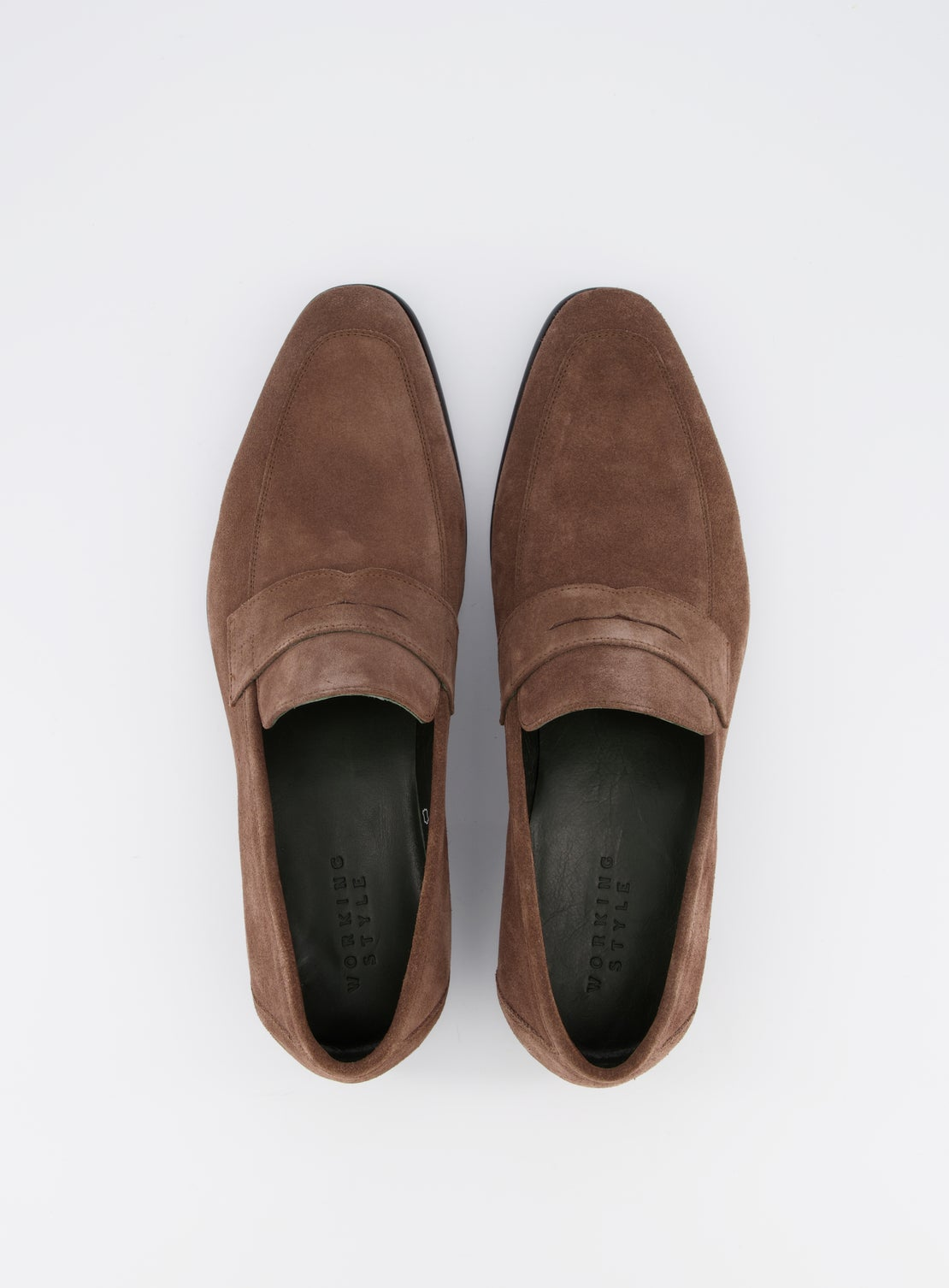 Weller Chocolate Suede Loafer