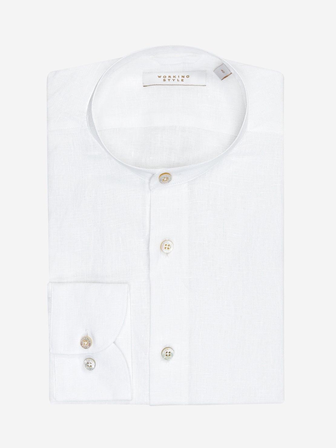 White Nehru Shirt