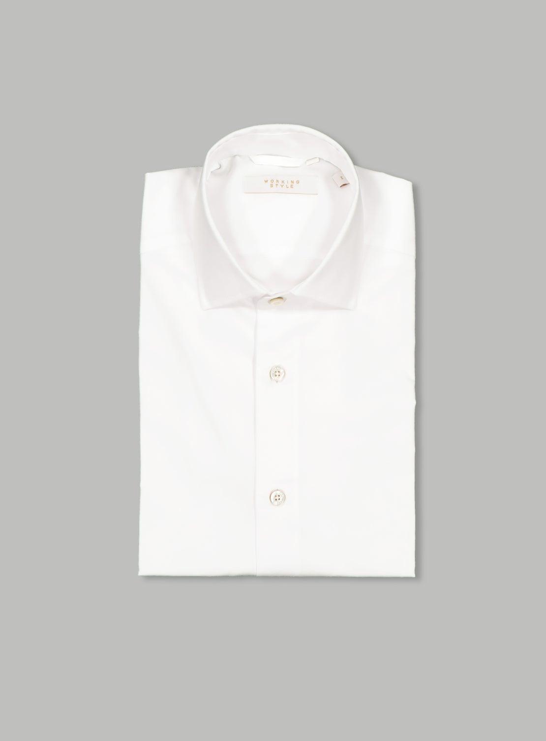 *White Twill Shirt