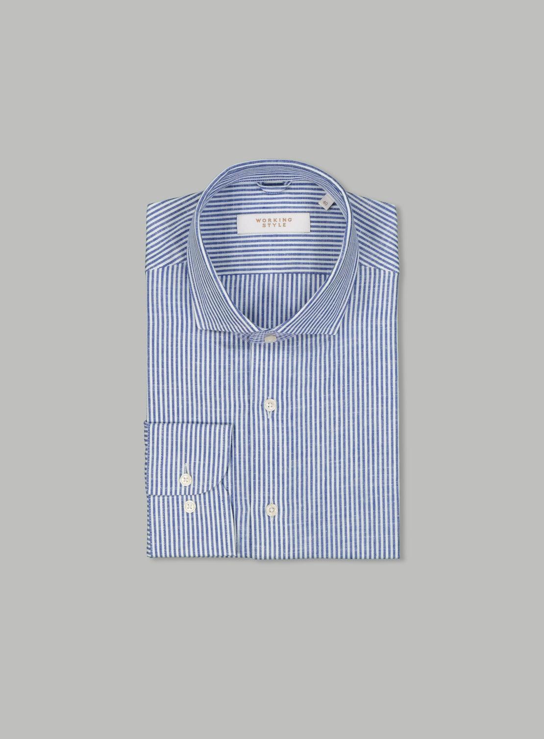 William Blue Shirt